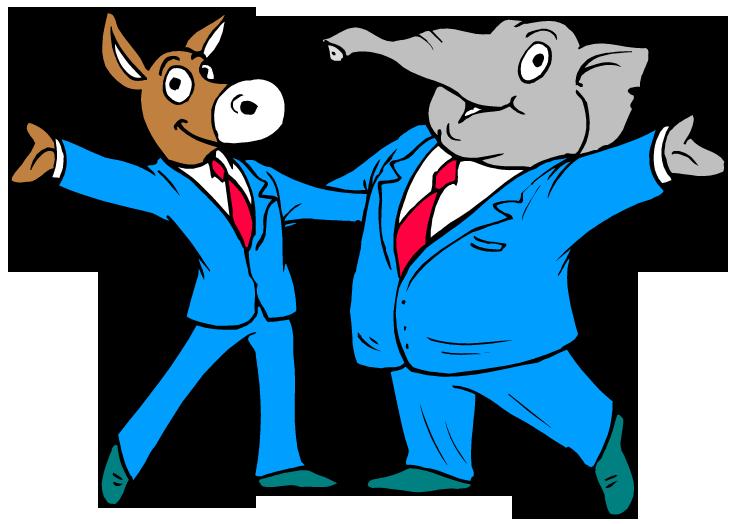 Democrats Outlove Republicans